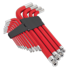 JUMBO BALL-END HEX KEY SET 13pc ANTI-SLIP- METRIC